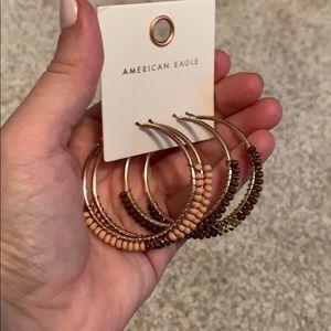 American Eagle Hoop Earrings